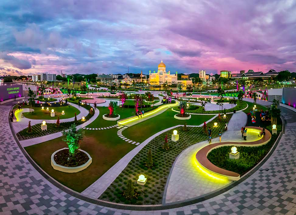 Taman Mahkota Jubilee Emas | Brunei Tourism