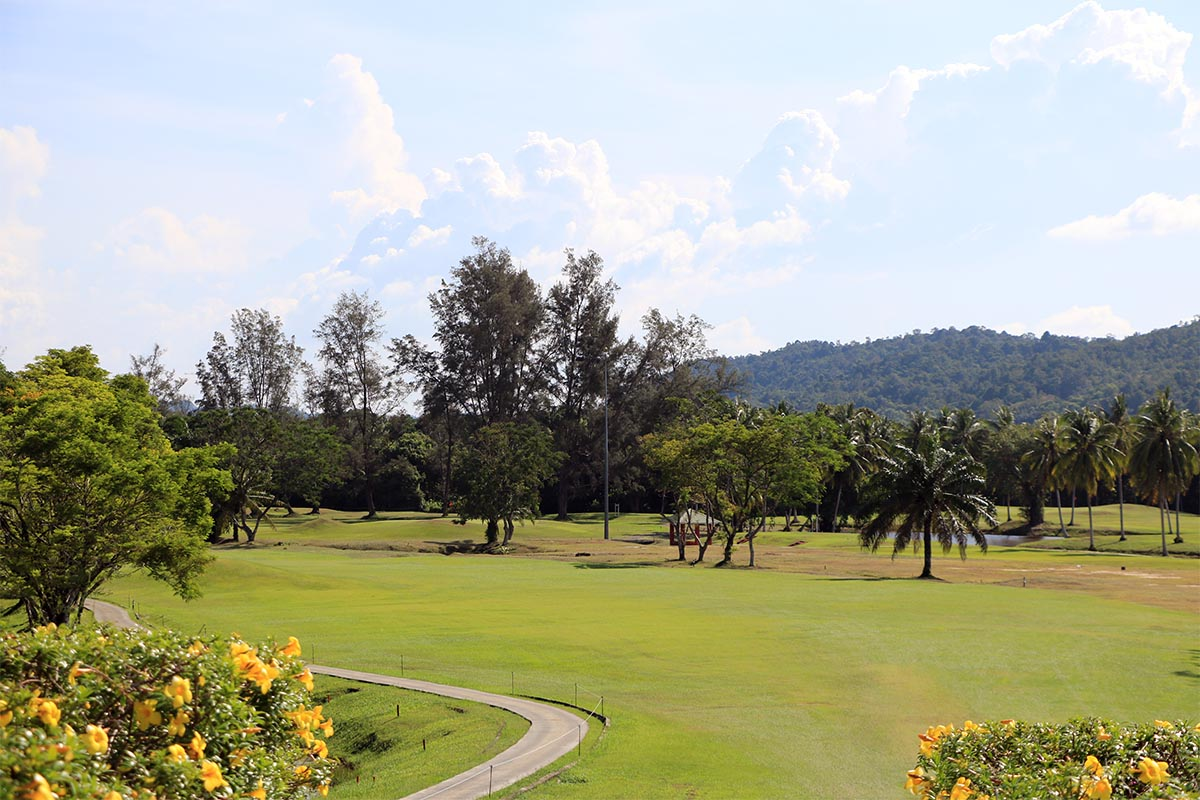 Mentiri golf club brunei