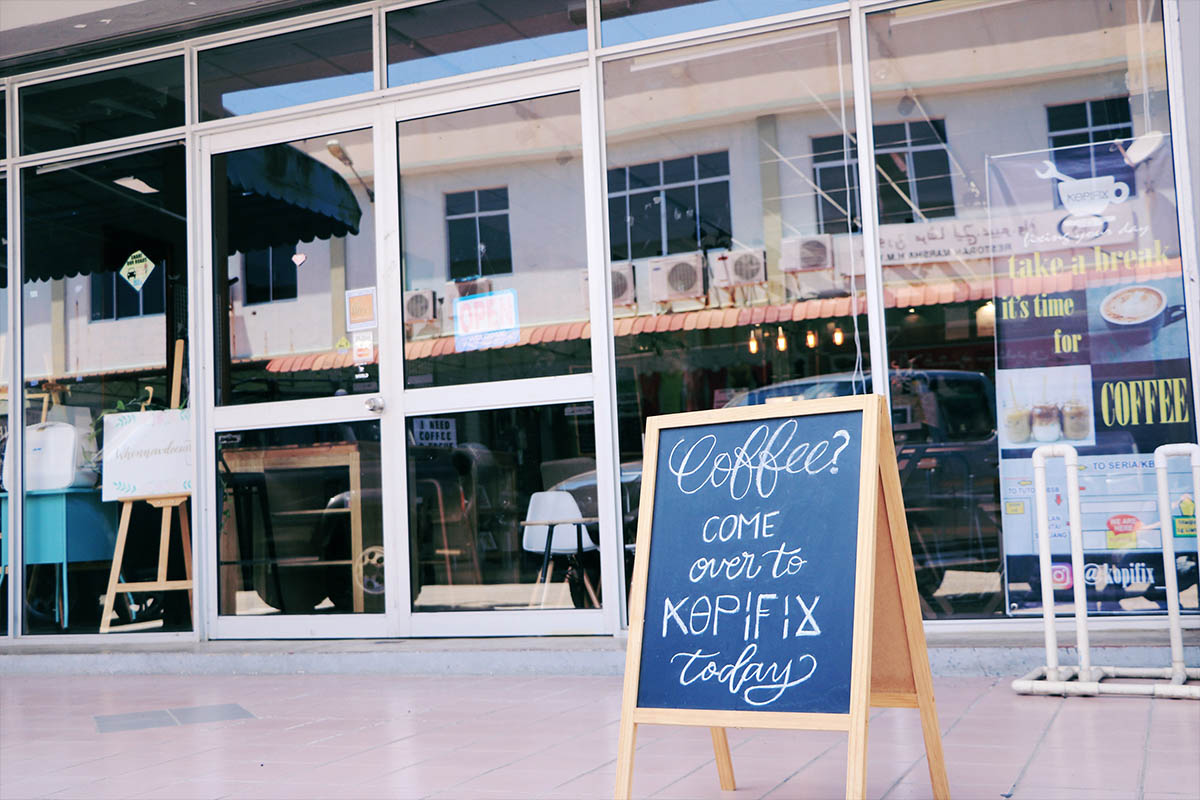 Kopi Fix - Brunei cafe