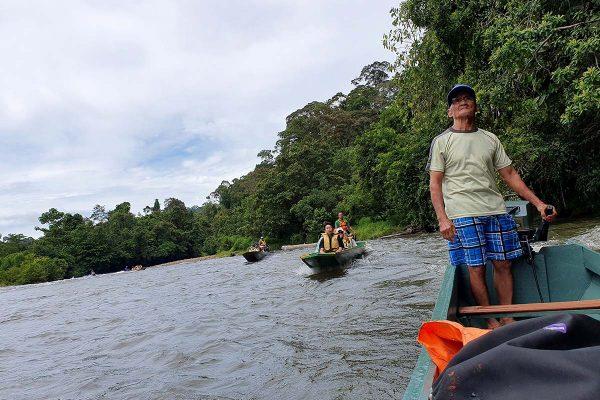 Longboat Ride - Temburong Brunei