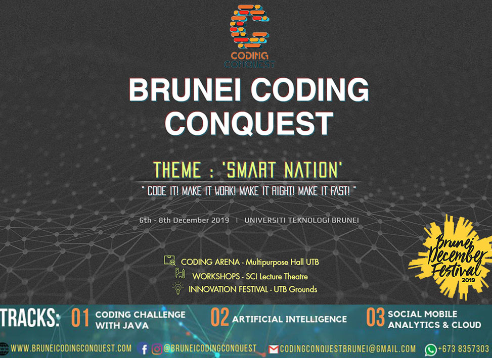 Brunei Coding Conquest 2019