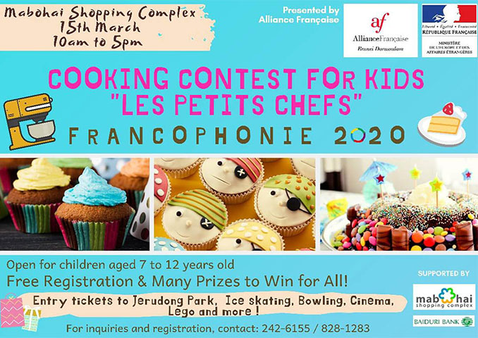 Cooking Contest - Alliance Francaise