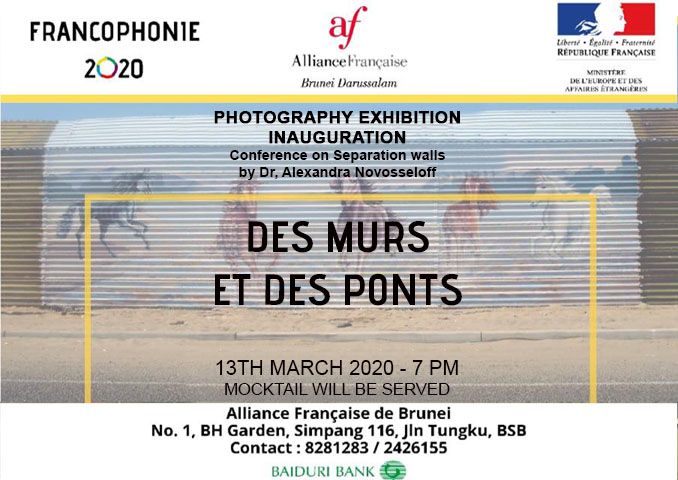 Photography exhibition inauguration