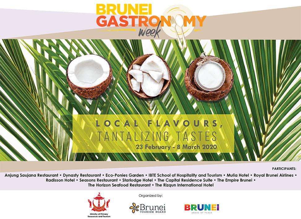 brunei gastronomy week poster 2020