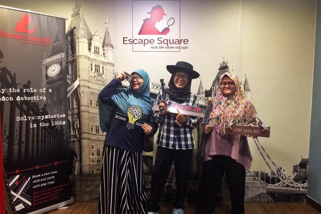 Photo credits to Escape square