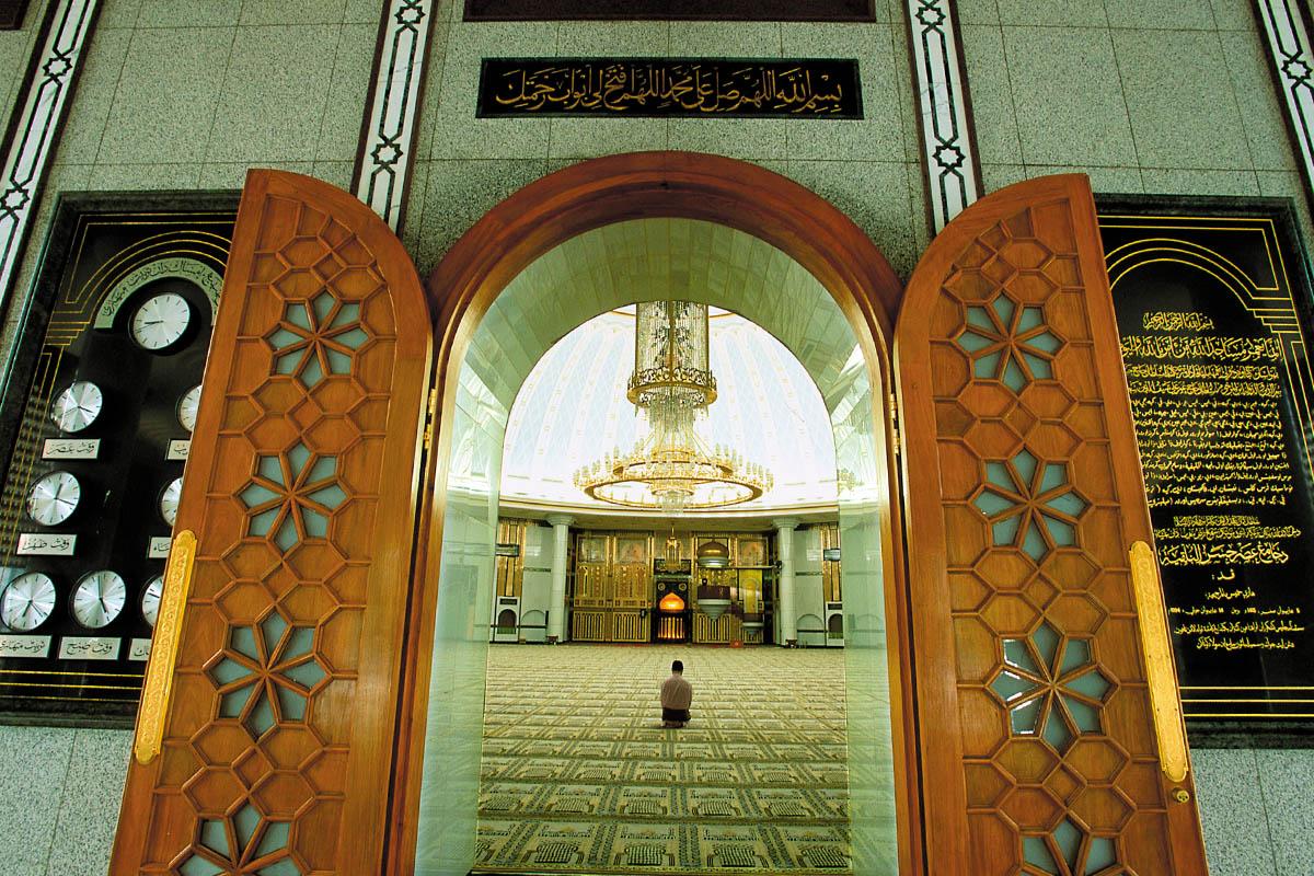 Entrance mosque