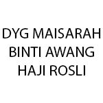 Dyg Maisarah binti Awang Haji Rosli