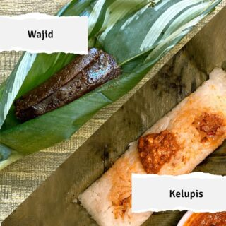 Kelupis and Wajid may look the same with the nyirik leaf wrapping, but they taste very different. While Kelupis is a savoury snack of glutinous rice usually enjoyed with meat fillings, stews or sauces, Wajid is a sweet treat made with a type of fine rice called Beras Jawa. When the time comes for travel, these delicious delights will be available for you to try at a local market. In the meantime, stay safe and healthy! See you in #Brunei soon! #discoverbrunei ⁣#travelgram #instatravel #travelasia #travelinspiration #travelphotography #travel #wanderlust #destinationearth #seetheworld #brunei